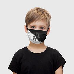 Детская маска для лица The Last of Us: White & Black