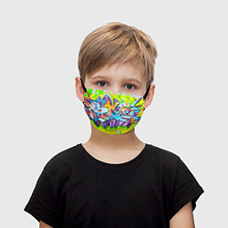 Детская маска для лица Неоновая кислота