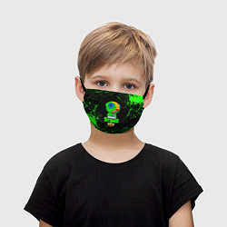 Детская маска для лица BRAWL STARS LEON
