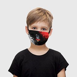 Маска для лица детская Бравл старс цвета 3D — фото 1