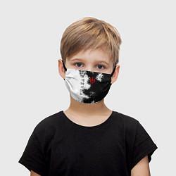 Маска для лица детская THE WITCHER цвета 3D-принт — фото 1