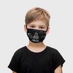 Маска для лица детская KHABIB цвета 3D-принт — фото 1