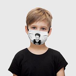 Маска для лица детская Джаред Лето цвета 3D-принт — фото 1