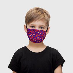 Детская маска для лица Губы