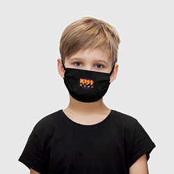 Маска для лица детская KISS: Death Faces цвета 3D — фото 1