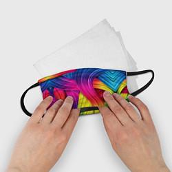 Маска для лица детская Абстракция цвета цвета 3D — фото 2