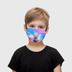 Маска для лица детская No Game No Life цвета 3D — фото 1
