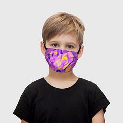 Маска для лица детская Texture цвета 3D — фото 1