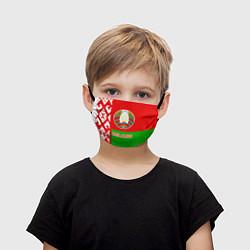 Маска для лица детская Belarus Patriot цвета 3D-принт — фото 1