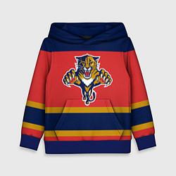 Толстовка-худи детская Florida Panthers цвета 3D-синий — фото 1