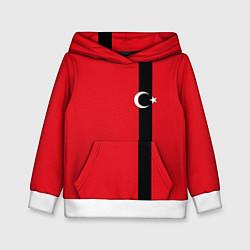 Толстовка-худи детская Турция цвета 3D-белый — фото 1