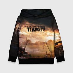 Толстовка-худи детская Escape from Tarkov цвета 3D-черный — фото 1
