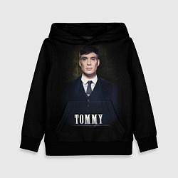 Толстовка-худи детская Peaky Tommy цвета 3D-черный — фото 1