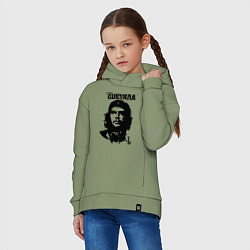 Толстовка оверсайз детская Che Guevara цвета авокадо — фото 2