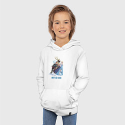 Толстовка детская хлопковая Frozen: Best Band цвета белый — фото 2