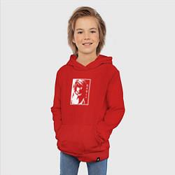 Толстовка детская хлопковая L Тетрадь смерти цвета красный — фото 2