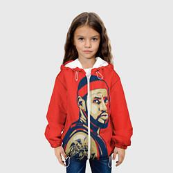 Куртка с капюшоном детская LeBron James цвета 3D-белый — фото 2