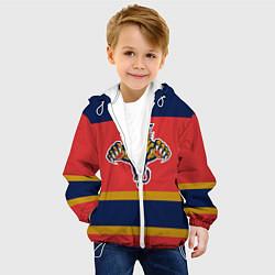 Куртка с капюшоном детская Florida Panthers цвета 3D-белый — фото 2