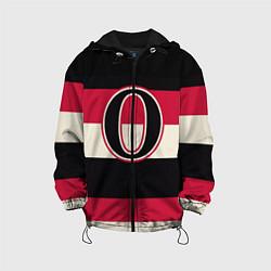 Куртка с капюшоном детская Ottawa Senators O цвета 3D-черный — фото 1