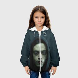 Детская 3D-куртка с капюшоном с принтом Эллиот Роджер, цвет: 3D-белый, артикул: 10107580105458 — фото 2