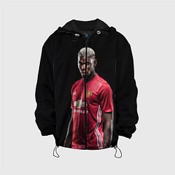 Куртка 3D с капюшоном для ребенка Погба: Манчестер Юнайтед - фото 1