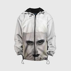 Куртка 3D с капюшоном для ребенка Die Antwoord: Black Eyes - фото 1