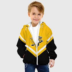 Куртка с капюшоном детская NHL: Pittsburgh Penguins цвета 3D-белый — фото 2