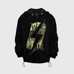 Детская 3D-куртка с капюшоном с принтом Fallout Never Changes, цвет: 3D-черный, артикул: 10112991805458 — фото 1
