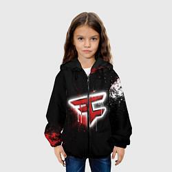 Куртка 3D с капюшоном для ребенка FaZe Clan: Black collection - фото 2