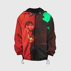 Куртка с капюшоном детская Dolphin Pain цвета 3D-черный — фото 1