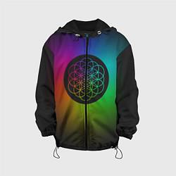 Куртка с капюшоном детская Coldplay Colour цвета 3D-черный — фото 1