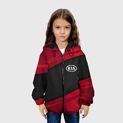 Куртка 3D с капюшоном для ребенка Kia: Red Sport - фото 2