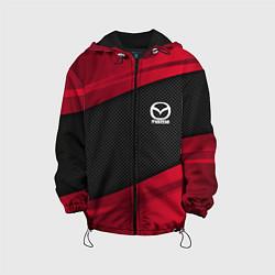 Детская 3D-куртка с капюшоном с принтом Mazda: Red Sport, цвет: 3D-черный, артикул: 10153000305458 — фото 1