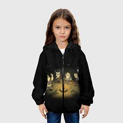 Куртка 3D с капюшоном для ребенка Don't Starve campfire - фото 2