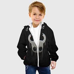 Куртка с капюшоном детская Hollow Knight цвета 3D-белый — фото 2