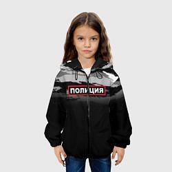 Куртка 3D с капюшоном для ребенка Полиция - фото 2