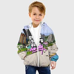Куртка с капюшоном детская GTA REDUX 2020 цвета 3D-белый — фото 2