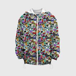 Куртка 3D с капюшоном для ребенка Stickerboom - фото 1