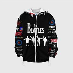 Куртка 3D с капюшоном для ребенка Beatles - фото 1
