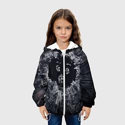 Детская 3D-куртка с капюшоном с принтом ЧЕРНОЕ ЗЕРКАЛО, цвет: 3D-белый, артикул: 10210866905458 — фото 2