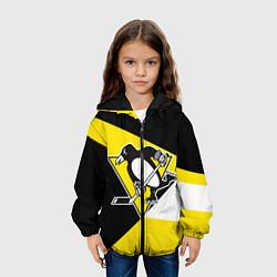 Куртка с капюшоном детская Pittsburgh Penguins Exclusive цвета 3D-черный — фото 2