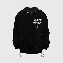 Детская 3D-куртка с капюшоном с принтом ЧЕРНОЕ ЗЕРКАЛО, цвет: 3D-черный, артикул: 10270789505458 — фото 1