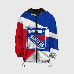Куртка с капюшоном детская Нью-Йорк Рейнджерс цвета 3D-черный — фото 1