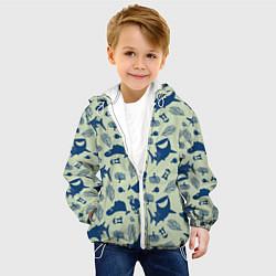 Детская 3D-куртка с капюшоном с принтом Finding Nemo, цвет: 3D-белый, артикул: 10274685705458 — фото 2