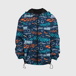 Детская 3D-куртка с капюшоном с принтом Finding Nemo паттерн, цвет: 3D-черный, артикул: 10274692905458 — фото 1