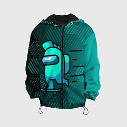 Детская 3D-куртка с капюшоном с принтом AMONG US, цвет: 3D-черный, артикул: 10276868905458 — фото 1
