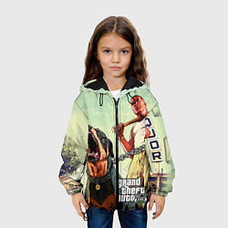 Куртка 3D с капюшоном для ребенка GTA 5: Franklin Clinton - фото 2