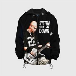Детская 3D-куртка с капюшоном с принтом System of a Down, цвет: 3D-черный, артикул: 10072962205458 — фото 1