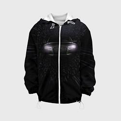 Детская 3D-куртка с капюшоном с принтом Audi, цвет: 3D-белый, артикул: 10075414405458 — фото 1