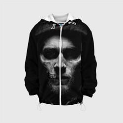 Куртка с капюшоном детская Sons Of Anarchy цвета 3D-белый — фото 1